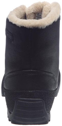 Clarks Reel Cool 203467267 Herren Stiefel Schwarz/Black Leather
