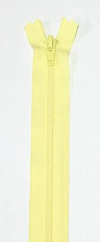 "Closed End Lightweight No.3 Zip Cream Nylon YKK Zipper 14/""// 35cm"