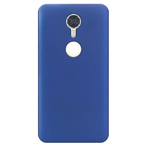 ZLDECO Ultra Slim Shock Proof Matte Hard Skin Case Cover Protect for Blu Vivo 8 5.5 Smartphone (Blue)