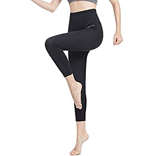 L&Sports 2mm Neoprene Pants Women Weight Loss Ninth Sauna Leggings