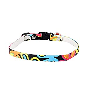 ABCD Floral Print cat Collars-Buy 1 GET 1 Free