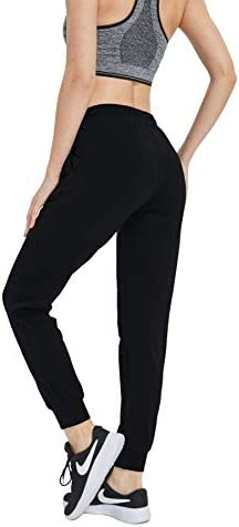 HUAKANG Women's Yoga Sweatpants with Pockets Athletic Lounge Pants for Jogging Workout Gym 1
