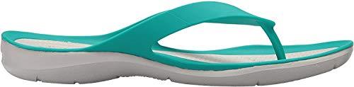Crocs Damen Swiftwater Flip W Dusch-& Badeschuhe