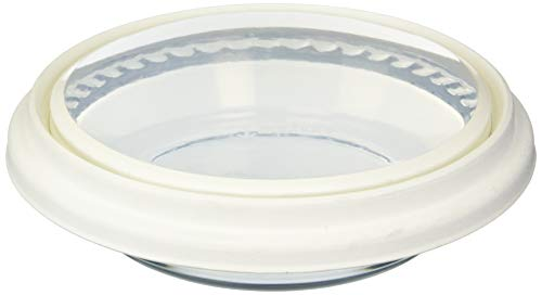 9.5 inch Deep Pie White cover