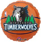 Anagram International Minnesota Timberwolves Flat Party Balloons, 18