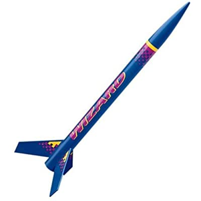 Estes Flying Model Rocket Kit Wizard 1292Bk single bulk pack kit: Toys & Games