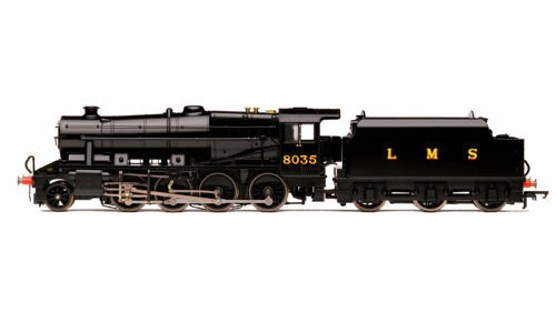 Hornby R3565 LMS 2-8-0 8F Class Train Model Set
