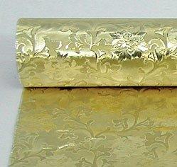 Embossed Florist Foil GOLD - Camelot style design. NEW larger size - 20