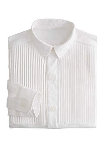 Chasing Fireflies Boys Tuxedo Dress Shirt White ()
