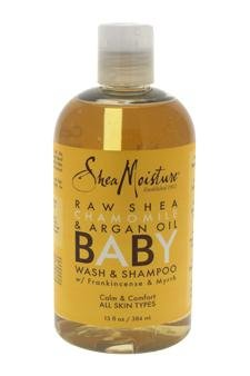 Shea Moisture Raw Shea Butter Chamomile & Argan Oil Baby Head-to-Toe Wash & Shampoo – 13 oz
