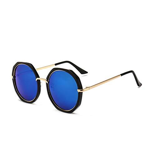 sol B del de sol de Gafas las metálico gafas NIFG marco redondas de WT7Pxq