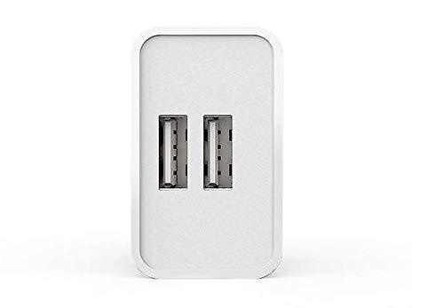 Inmorven USB Ladeger/ät,2A//5V USB Netzteil,AC 2 Port Handy Ladekopf Steckdosen,EU Stecker Wandladeger/ät f/ür Smartphones,iPhone,Android