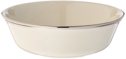 - Lenox Solitaire Platinum Banded Ivory China All Purpose Bowl