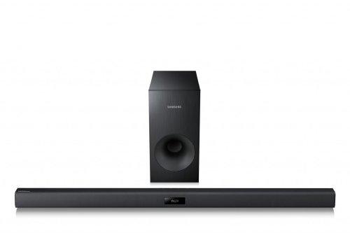 Samsung HW-F355 - Barra de sonido 2.1 (Bluetooth, HDMI, USB 2.0), Negro