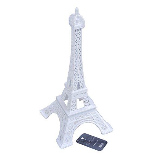 ZOVIE Pari Eiffel Tower Decor Pure Color (7in,