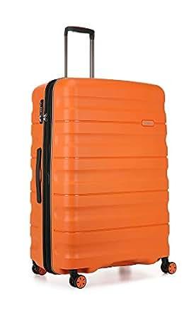 Antler 4227108015 Juno 2 4W Large Roller Case Suitcases (Hardside), Orange, 81 cm