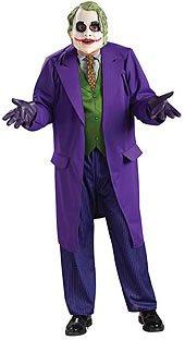 Deluxe The Joker Plus Size Costumes - Deluxe Joker Adult Costume - Plus