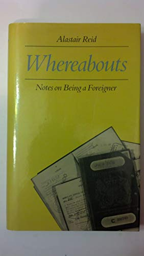 Whereabouts: Notes on being a foreigner