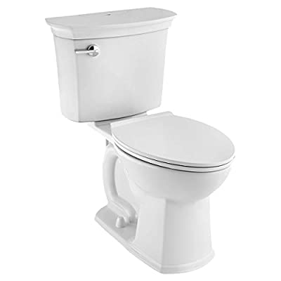 American Standard Vormax 714aa.151.020 2-piece Acticlean Self-cleaning Right Height Elongated 1.28 Gpf Toilet In White