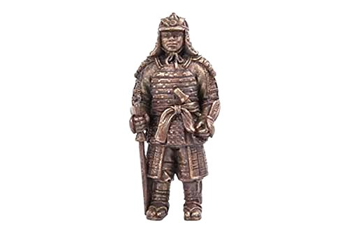 Mini Dollhouse FAIRY GARDEN Accessories - Samurai Bronze Statue - My Garden Miniatures
