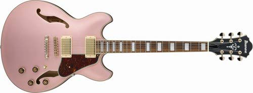 Ibanez Artcore AS73G – Rose Gold Metallic Flat
