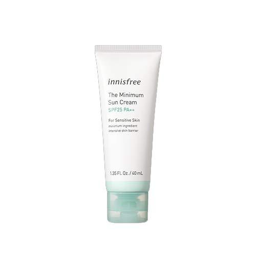 (Innisfree The Minimum Sun Cream SPF25PA++(40ml) for Sensitive Skin)