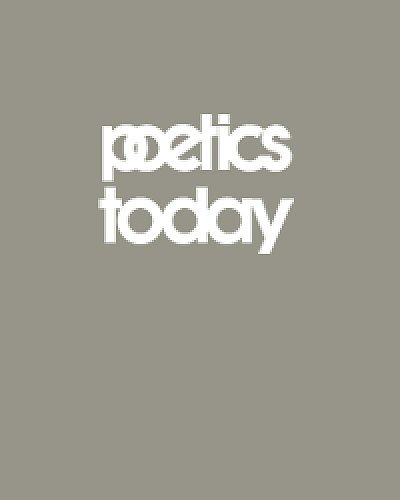 Literature and the Cognitive Revolution (Poetics Today) pdf