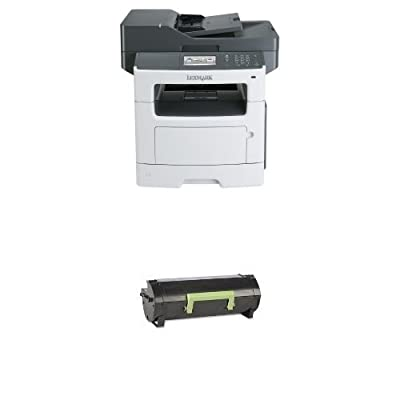 Lexmark 35S5703 Wireless Monochrome Printer with Scanner, Copier and Fax List price: 1255.71 USD & Lexmark 60F1000 Return Program Toner