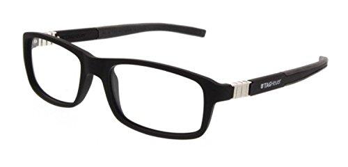 Tag Heuer Legend 9312 Eyeglasses 001 Black/Black/Black - Eyeglasses Uk Designer