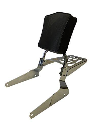 Sissy Bar Backrest & Luggage Rack for 1995-2009 Kawasaki Vulcan EN500 500 LTD EN500A EN500C