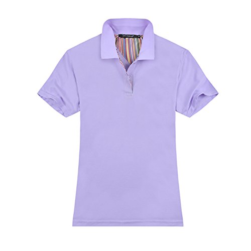 0ee36cb6 Averywin Womens Polo Shirts, Ladies Stretch Polo Shirts Short Sleeve Tops  Workwear Pack of 2