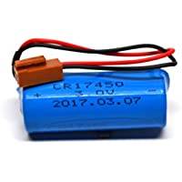 Fanuc A98L-0031-0012 CR17450SE-R 3V Generic Replacement Battery for Fanuc CNC Series Power Mate iD, Power Mate iH, 0i-B/0i-Mate-B, 0i-D (Stand-Alone), 15-B, 15i-A, 15i-B, 16/18-B, 16i/18i/21i