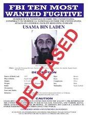 three 3 usama bin laden fbi most wanted posters via seal team 6