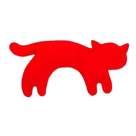 Leschi Warming pillow (for babies) | 36477 | Minina the cat | standing | small | Colour: Misty Morning / Midnight Leschi GmbH