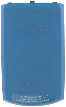 Samsung Saga i770 Blue Extended OEM Genuine Back Cover Battery Door ()