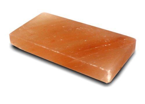 (Himalayan Salt Plates Cooking Block Slab 8x4x1 Natural Pink Sushi Plate NEW by Black Tai Salt)