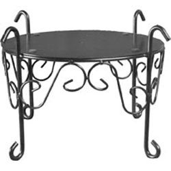Black Metal Counter Stand
