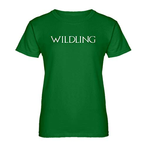 Indica Plateau Womens Wildling Large Kelly Green T-Shirt