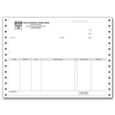 Continuous Invoice - 4