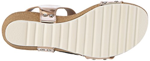 Refresh Damen 63285 Plateausandalen Beige (Nude)