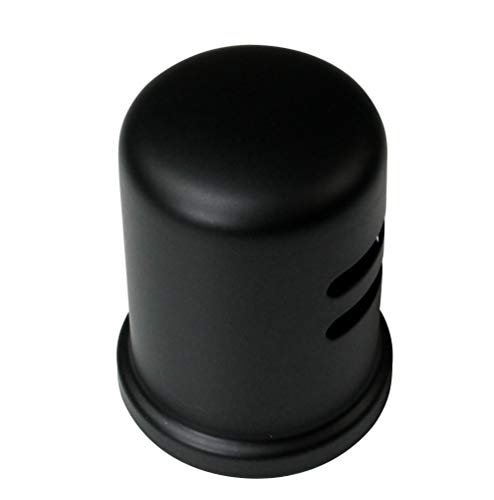 62 Vent - Westbrass D201-1-62 Air Gap Cap, Matte Black