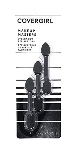 CoverGirl Makeup Masters Eyeshadow Applicators 3 ea (Pack of 4)