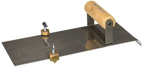 kraft-tool-cf613-stainless-steel-edger-with-adjustable-groover-1-2-inch-radius
