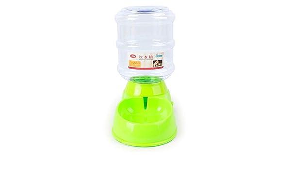 CAOQAO - Dispensador automático de Comida para Gatos y Perros, 3,5 ...