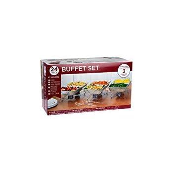 Amazon.com: Sterno 70182 Buffet Kit, Full (4 Pack): Kitchen ...