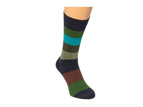 Grau 40 Gr Calcetines hombre Colori Mehrfarbig de bajos Multicolor qfzB0Uqn