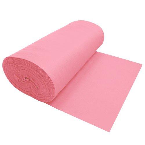 "Premium Felt Light Pink 72"" Wide x 1 Yard Long"