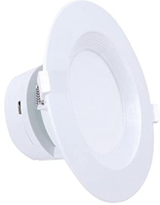 "6"" inch J-Box Canless LED Downlight 9W=(65/75W Equivalent) 40,000 Life Hours; Dimmable to 5%; Wet Location Rated; 700 Lumens; 120V; CRI>90; 5 Year Warranty"
