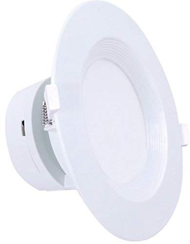 4'' Inch J-Box LED Canless Downlight; 7W=65/75W Equivalent; 40,000 Life Hours; Dimmable to 5%; Wet Location Rated; 5 Year Warranty; 120V; 550 Lumens; CRI>90; Warm White 3000K- (12 PACK) by Quest (Image #3)