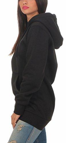 new styles d51e8 b4ae2 Gennadi Hoppe Damen Kapuzenpullover Kapuzenpulli, Maxi Hoody, Long Hoodie,  Longpulli, Baumwollpullover, Langer Pullover, Sweat Hoody Sweatshirt